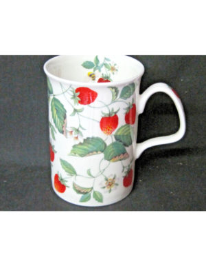 Roy Kirkham Alpine Strawberry Fine Bone China Mug
