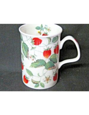 Roy Kirkham Alpine Strawberry Fine Bone China Mug
