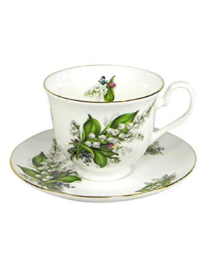 Lily of the Valley Fine Bone China – Cup & Saucer