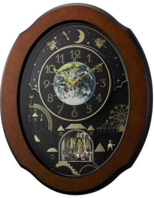 Rhythm 4MH879WU06 Timecracker Cosmos Clock