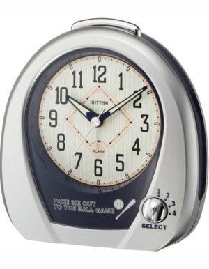 Rhythm 4RM759WD19 Baseball Alarm