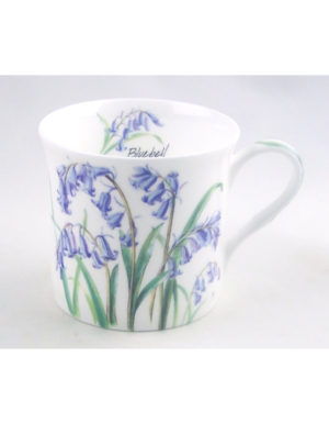Fine English Bone China Mug – Bluebell Chintz