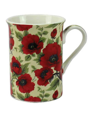 Leonardo Red Poppy Fine Bone China Mug