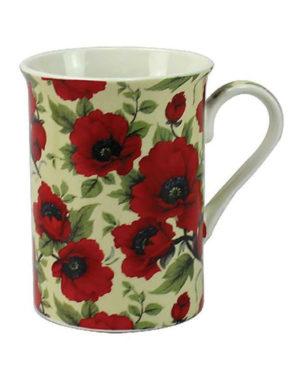 Leonardo Red Poppy Fine Bone China Mug