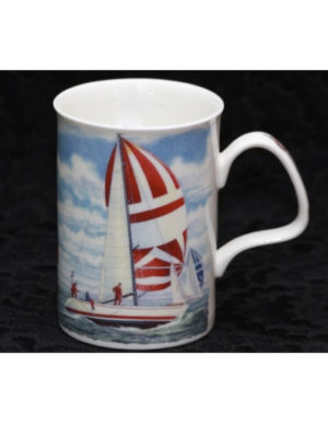 Roy Kirkham Sailing Boats Mug in Fine Bone China