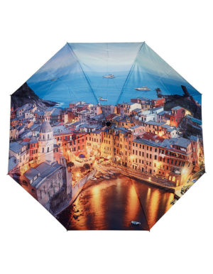 Galleria Auto Folding Umbrella – City Amalfi Coast