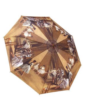 Galleria Auto Folding Umbrella – Degas Ballet