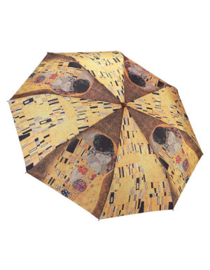 Galleria Auto Folding Umbrella – Gustav Klimt The Kiss
