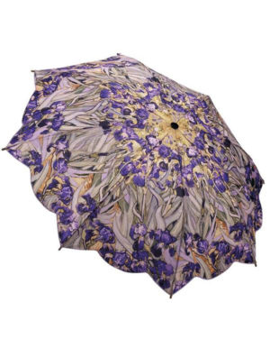 Galleria Auto Folding Umbrella – Van Gogh Irises