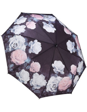 Galleria Auto Folding Umbrella – Vintage Rose