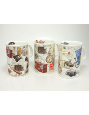 Roy Kirkham Past Times Fine Bone China Mug