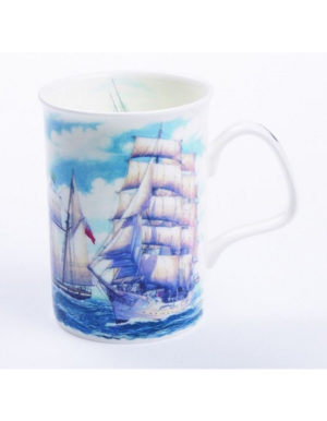 Roy Kirkham Sailing Boats Mug, Fine Bone China