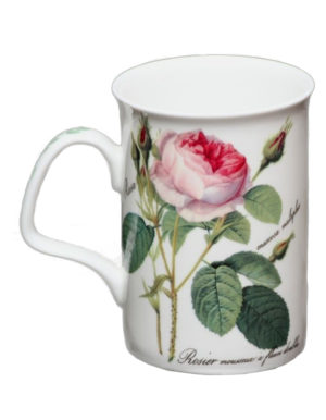 Roy Kirkham Redoute Rose Fine Bone China Mug