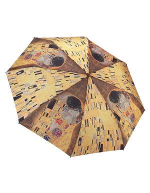 Galleria Auto Folding Umbrella – Gustav Klimt The Kiss