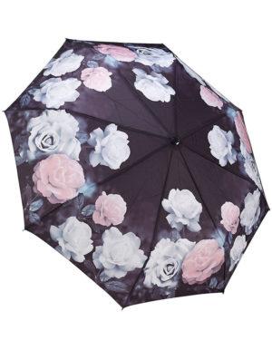 Galleria Auto Folding Umbrella – Vintage Rose