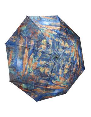 Galleria Auto Folding Umbrella –  Paul Cezanne, The Brook