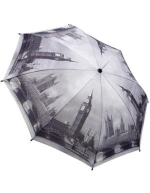 Galleria Auto Folding Umbrella –  London
