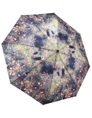 Galleria Auto Folding Umbrella –  Renoir Woman with Parasol