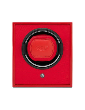 WOLF 460414 Cub Single Watch Winder, Red